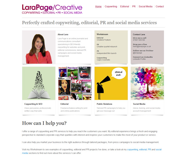 Lara-Page-website