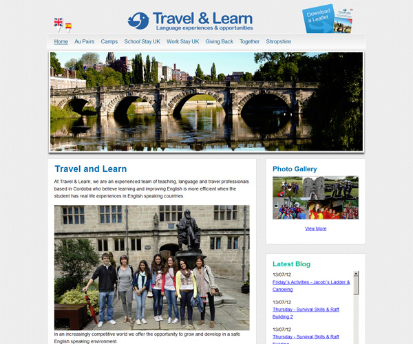 Travel-and-Learn-website