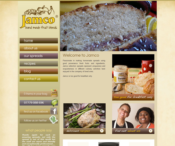 Jamco-website